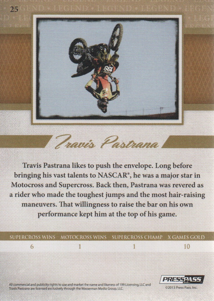 2013-Press-Pass-Legends-Parallels-NASCAR-Racing-Cards-Pick-From-List thumbnail 5