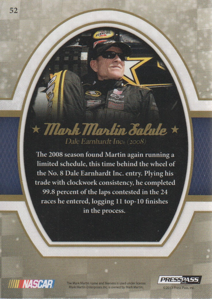 2013-Press-Pass-Legends-Parallels-NASCAR-Racing-Cards-Pick-From-List thumbnail 13