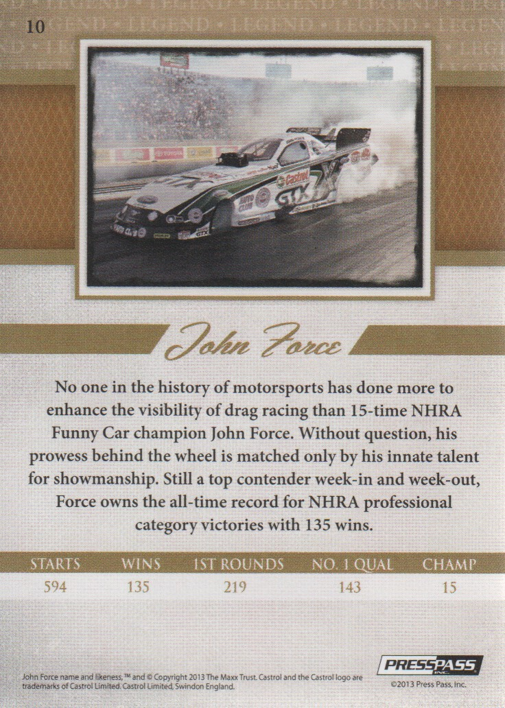 2013-Press-Pass-Legends-Parallels-NASCAR-Racing-Cards-Pick-From-List thumbnail 19