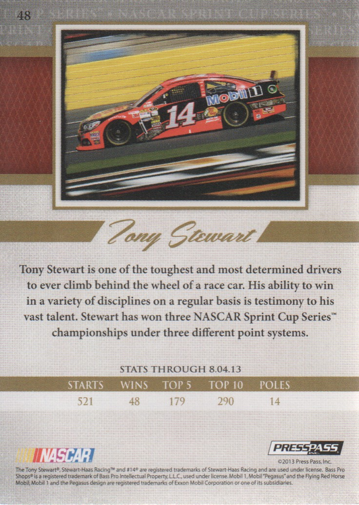 2013-Press-Pass-Legends-Parallels-NASCAR-Racing-Cards-Pick-From-List thumbnail 15
