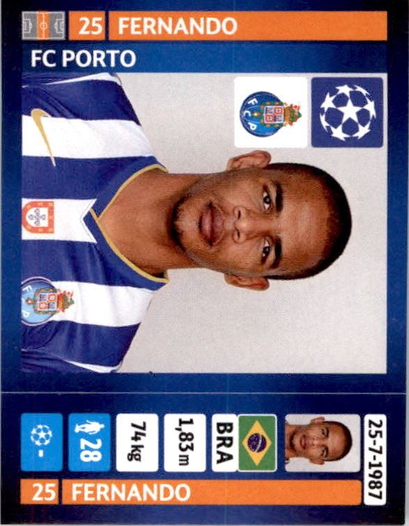 STICKER 65-Fernando Llorente PANINI CHAMPIONS LEAGUE 2014//15