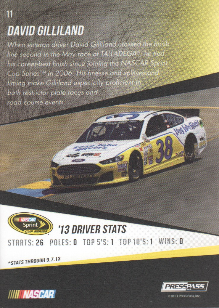 2014-Press-Pass-Parallels-NASCAR-Racing-Cards-Pick-From-List thumbnail 11