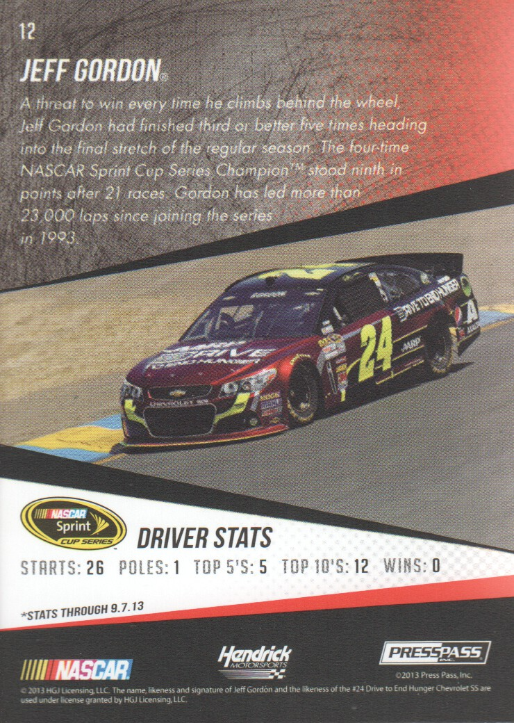 2014-Press-Pass-Parallels-NASCAR-Racing-Cards-Pick-From-List thumbnail 13