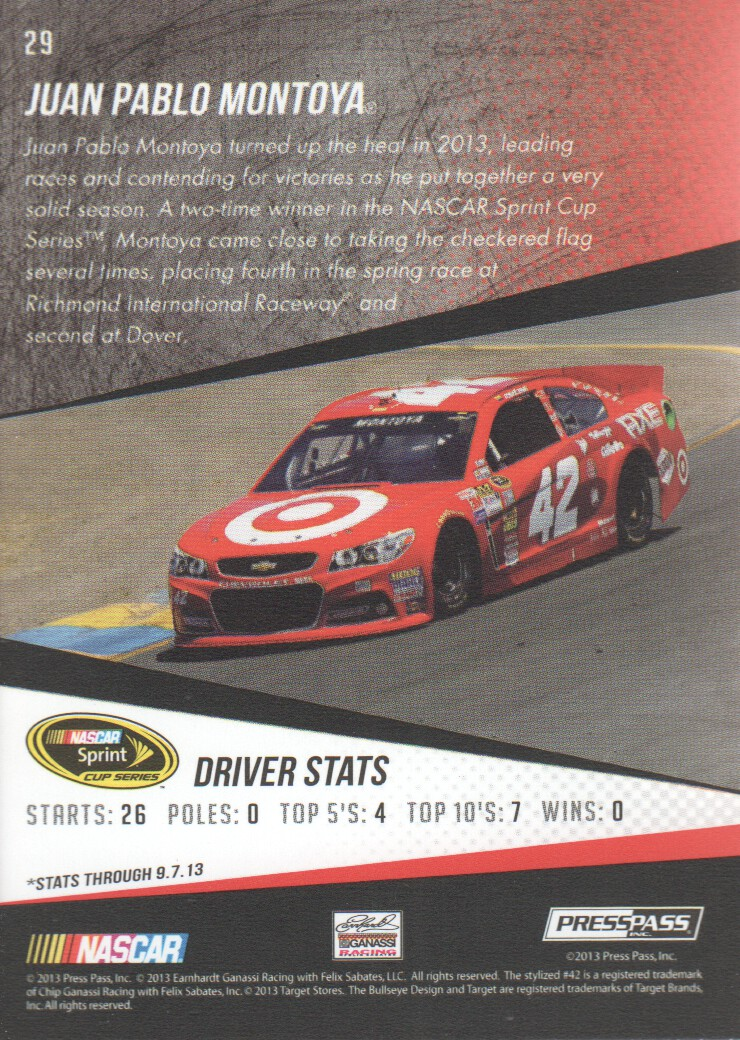 2014-Press-Pass-Parallels-NASCAR-Racing-Cards-Pick-From-List thumbnail 15