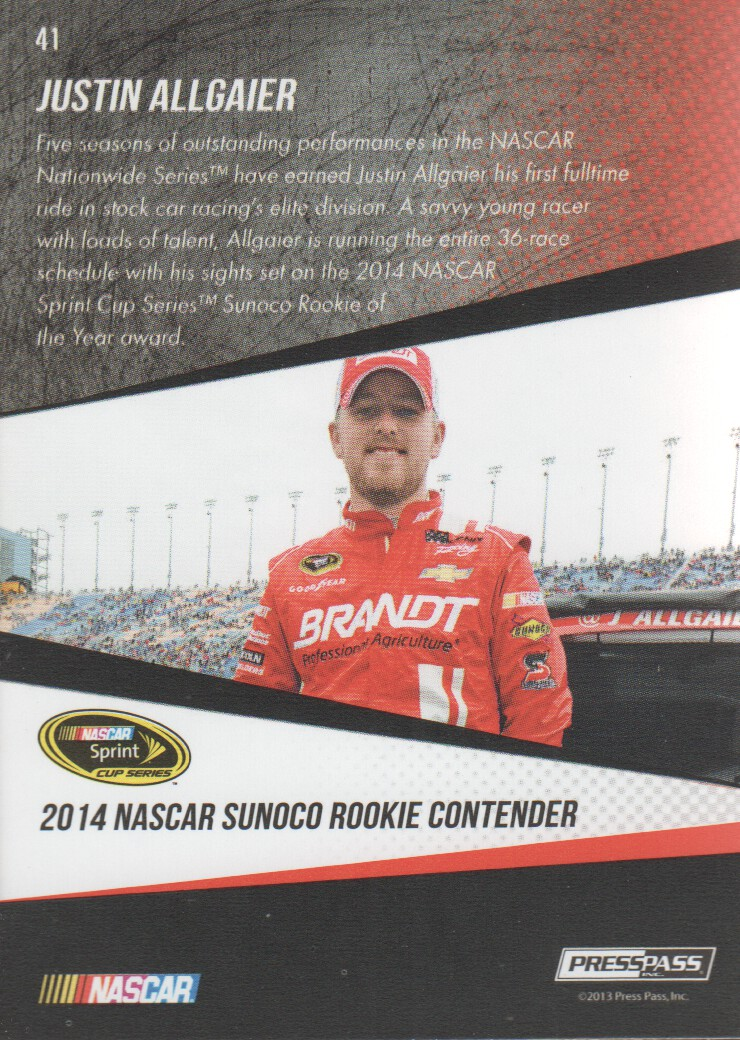 2014-Press-Pass-Parallels-NASCAR-Racing-Cards-Pick-From-List thumbnail 19