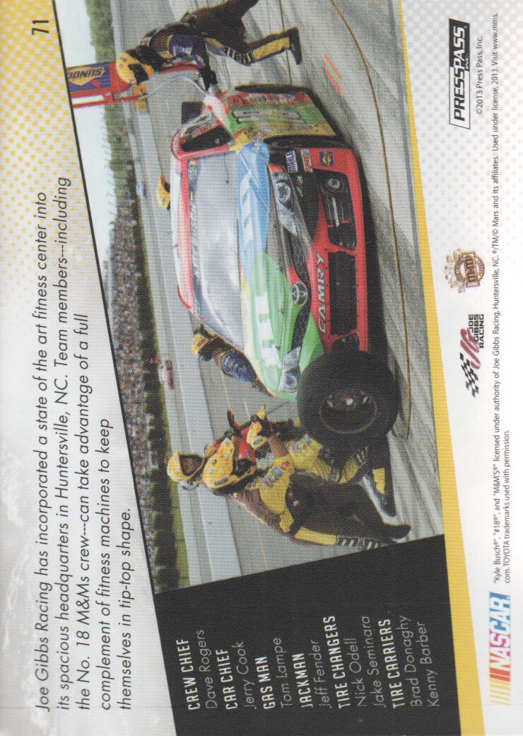 2014-Press-Pass-Parallels-NASCAR-Racing-Cards-Pick-From-List thumbnail 23