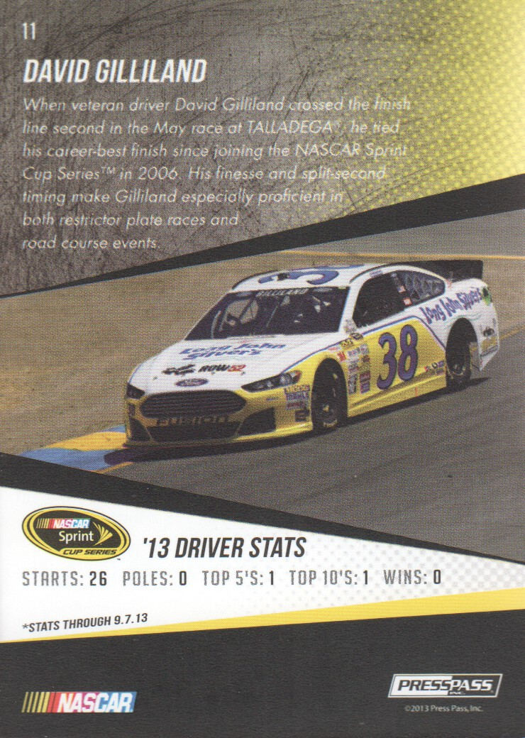 2014-Press-Pass-Parallels-NASCAR-Racing-Cards-Pick-From-List thumbnail 3