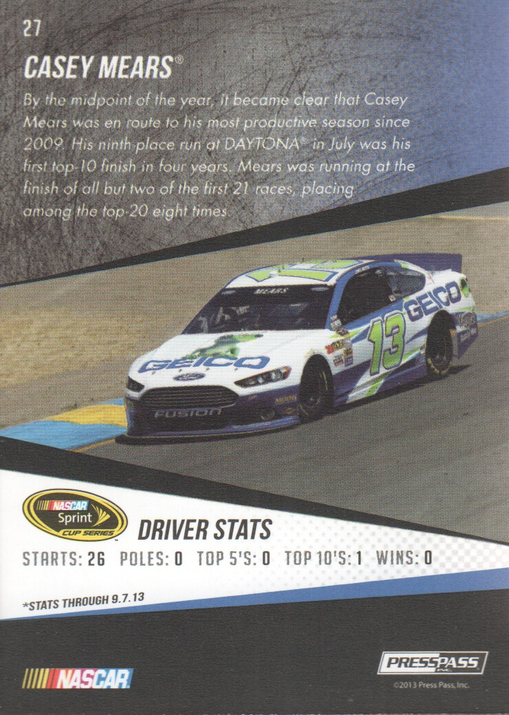 2014-Press-Pass-Parallels-NASCAR-Racing-Cards-Pick-From-List thumbnail 5