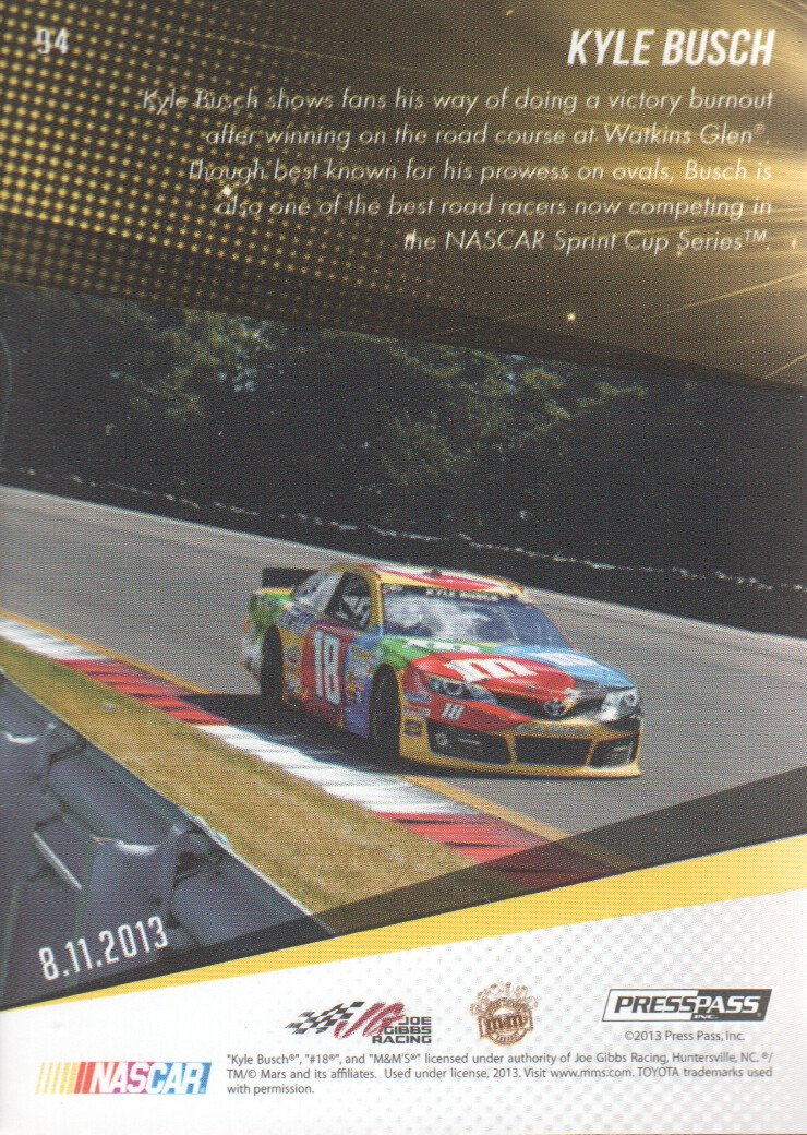 2014-Press-Pass-Parallels-NASCAR-Racing-Cards-Pick-From-List thumbnail 9