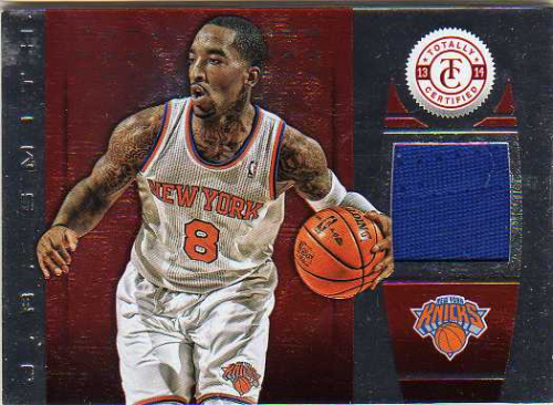 2013-14 Totally Certified Materials Red #22 J.R. Smith/99