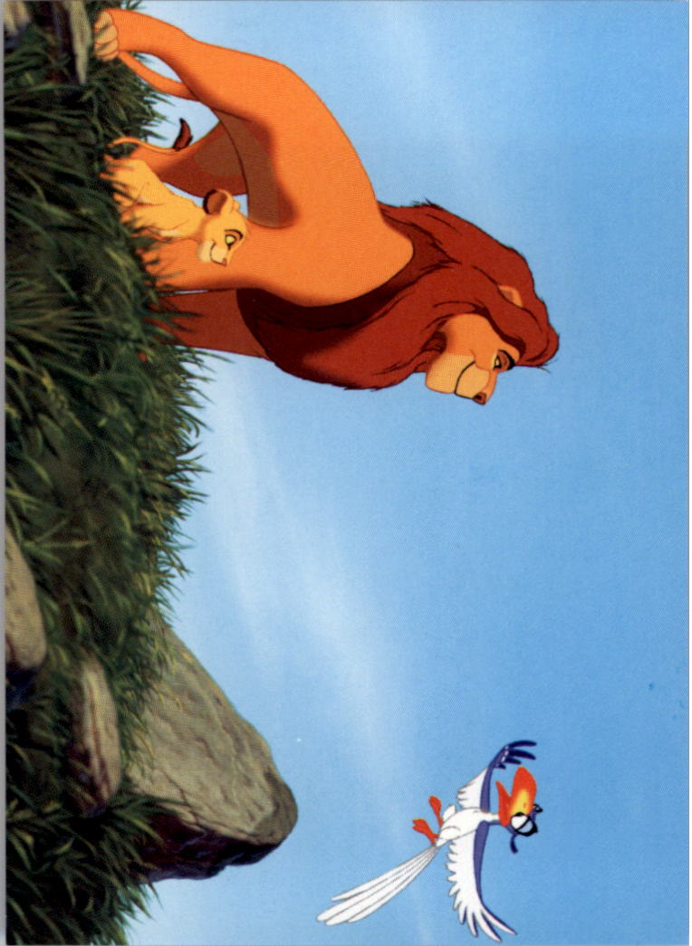 1994 The Lion King #121 Roaring Lessons