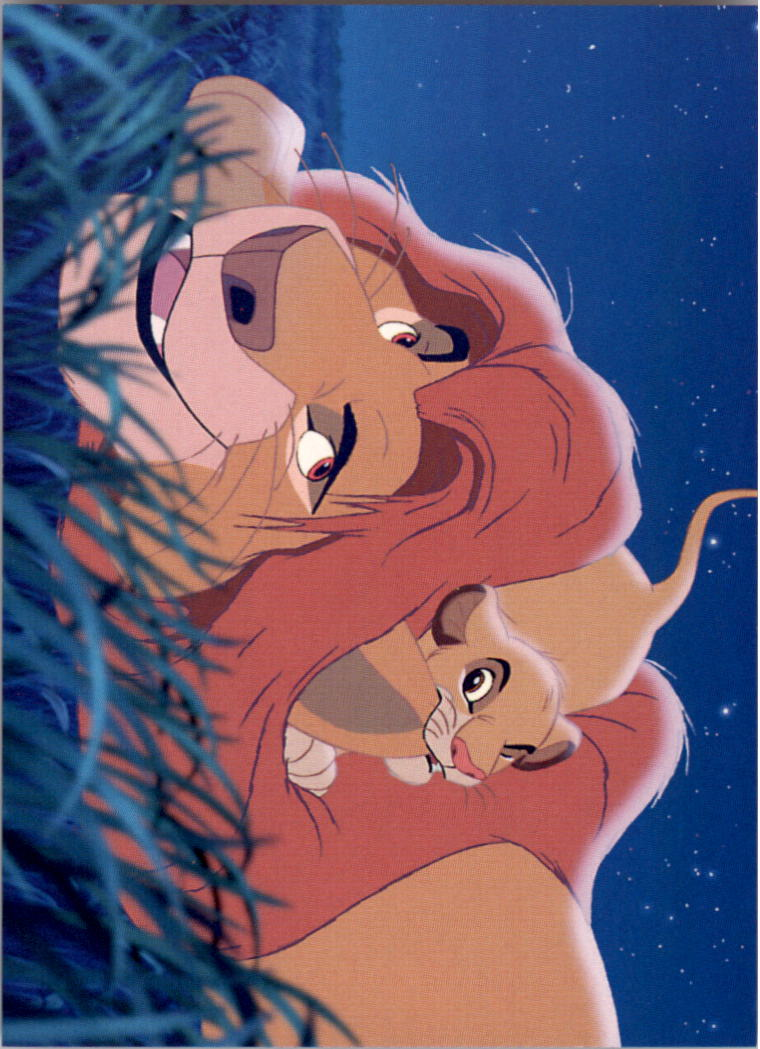 1994 The Lion King #131 A Father's Promise