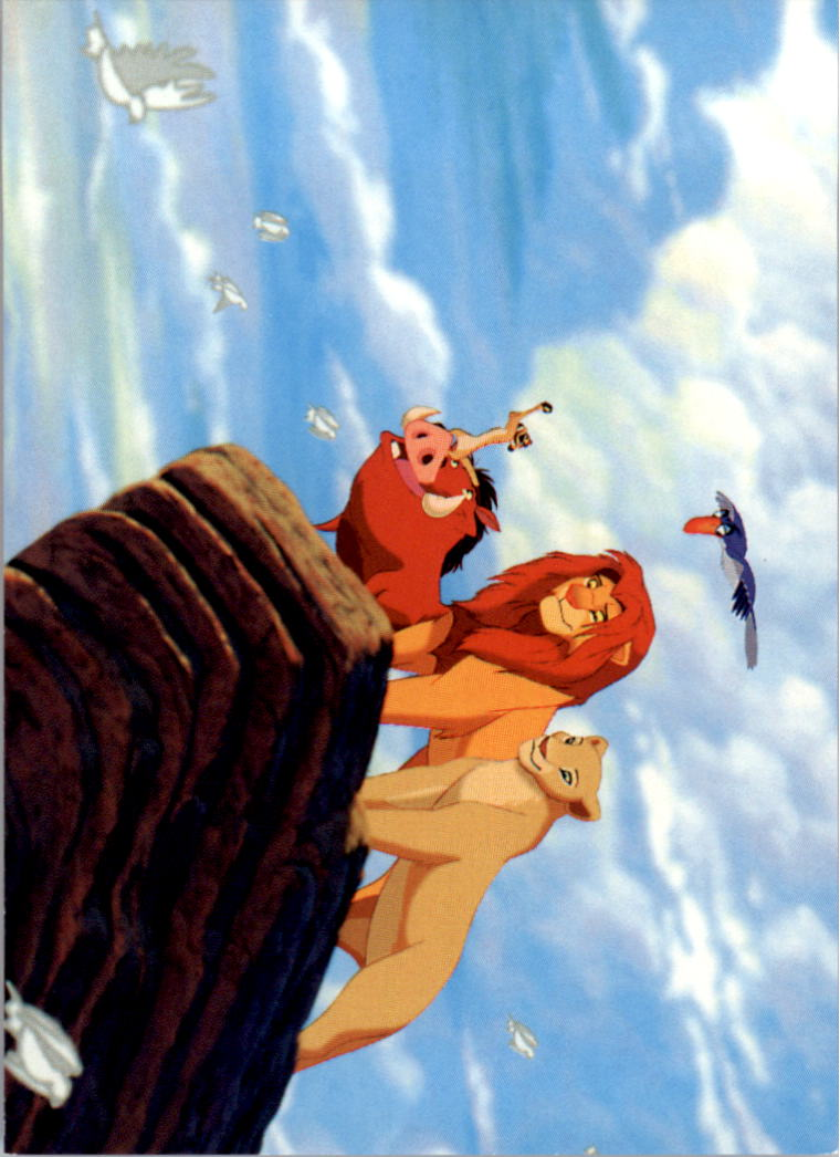 1994 The Lion King #156 Simba Triumphs