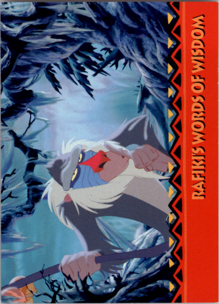 1994 The Lion King #166 The Question Is: Who Are You