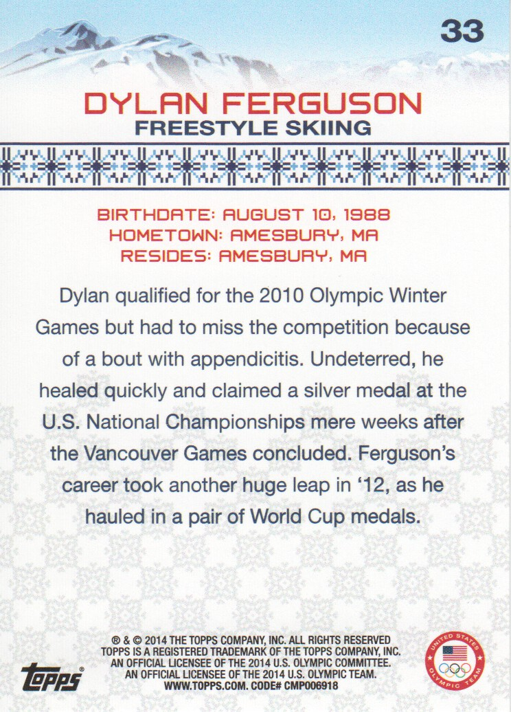 2014-Topps-U-S-Olympic-Team-Trading-Cards-Pick-From-List thumbnail 168