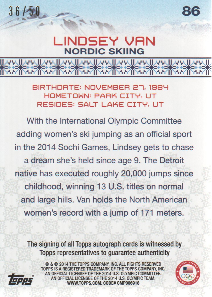 2014-Topps-U-S-Olympic-Team-Trading-Cards-Pick-From-List thumbnail 112