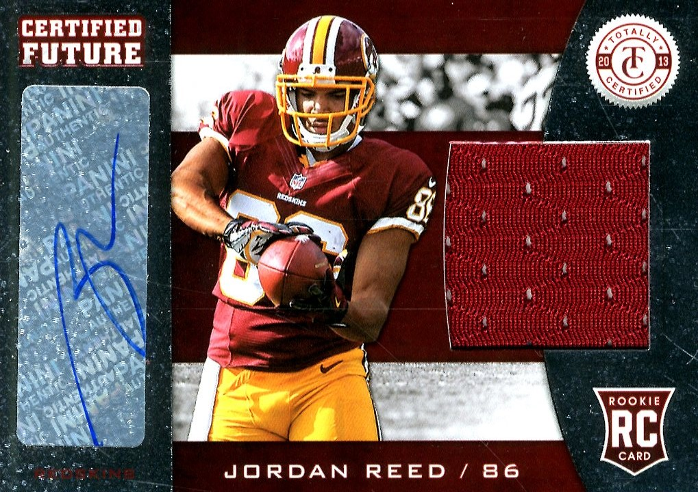 2013 Totally Certified Future Signature Materials #14 Jordan Reed