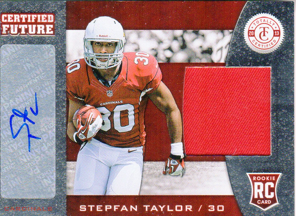 2013 Totally Certified Future Signature Materials #34 Stepfan Taylor