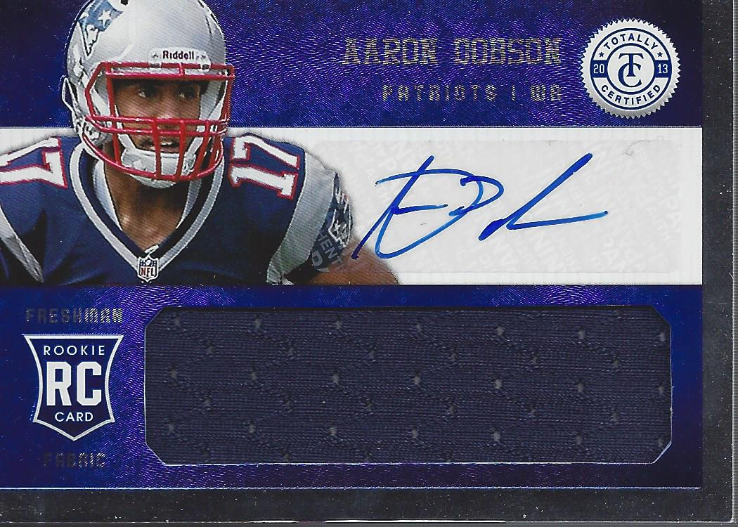 2013 Totally Certified Blue Signatures #211 Aaron Dobson FF/99