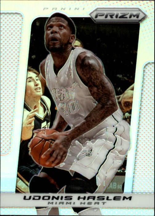 2013-14 Panini Prizm Prizms #23 Chris Bosh Miami Heat Basketball Card