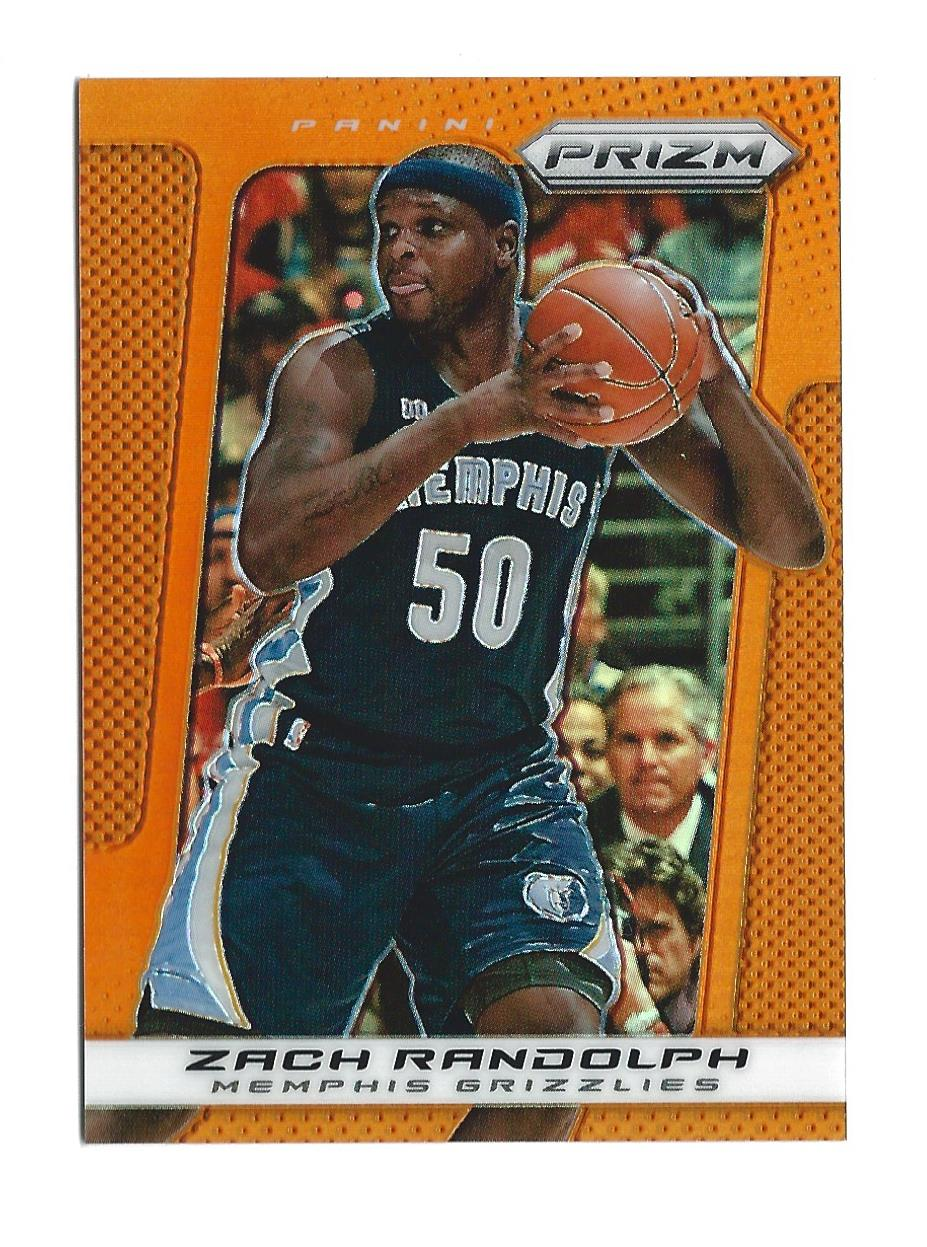 2013-14 Panini Prizm Prizms Orange #2 Zach Randolph
