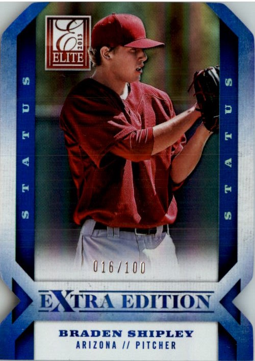 2013 Elite Extra Edition Status #4 Braden Shipley