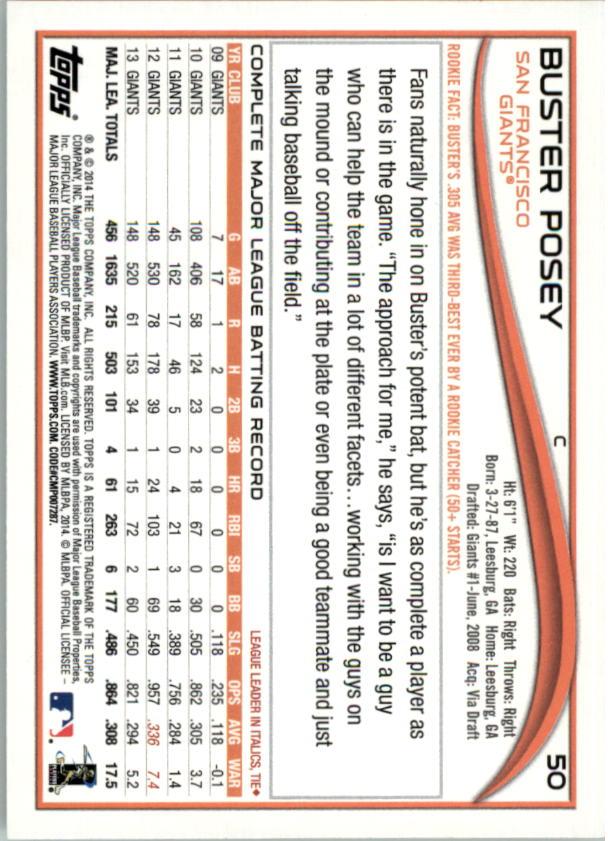 2014-Tarjeta-de-beisbol-Topps-Verde-Pick miniatura 14