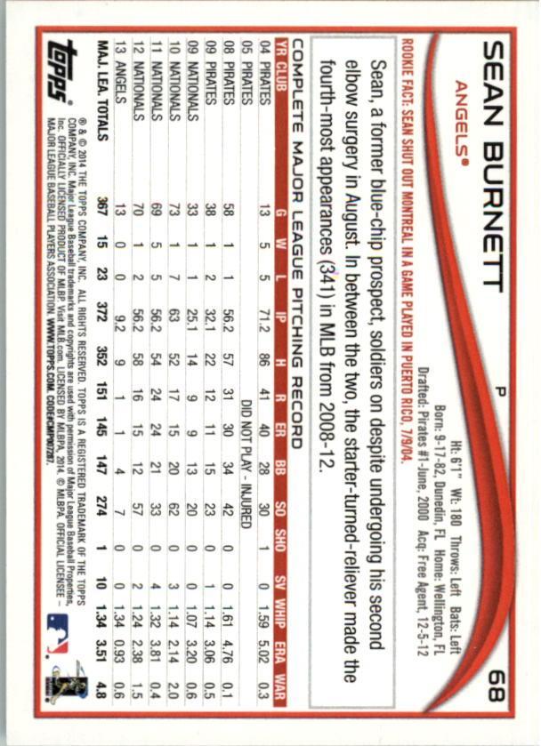 2014-Tarjeta-de-beisbol-Topps-Verde-Pick miniatura 18