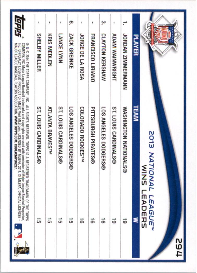 2014-Tarjeta-de-beisbol-Topps-Verde-Pick miniatura 53