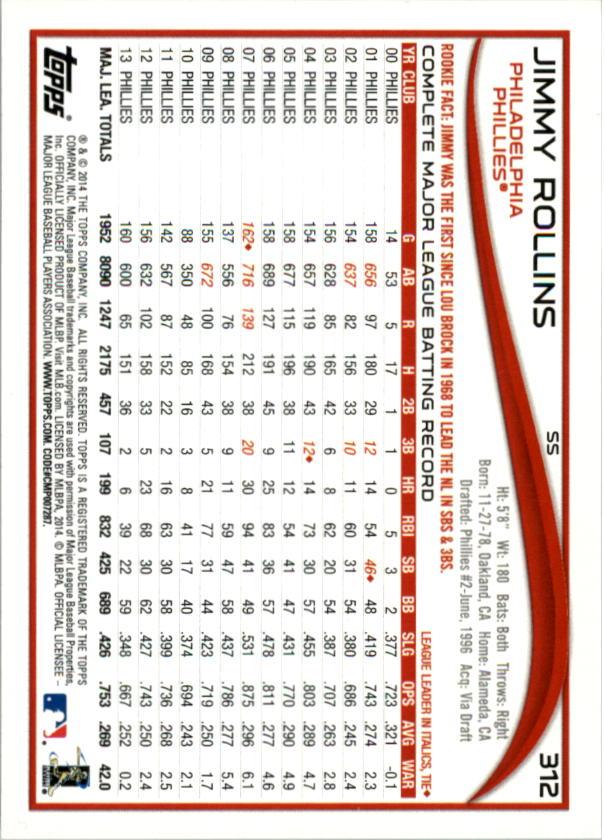 2014-Tarjeta-de-beisbol-Topps-Verde-Pick miniatura 57