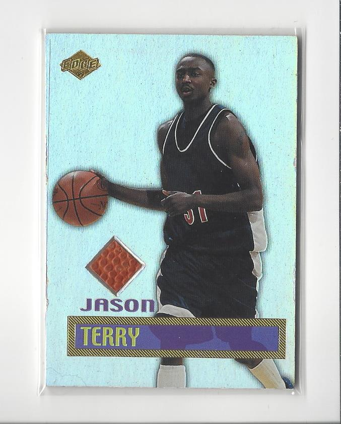 fef75d911d17 1999 Collector s Edge Rookie Rage Game Ball  JT Jason Terry