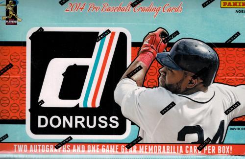 2014 Donruss Baseball Hobby Box