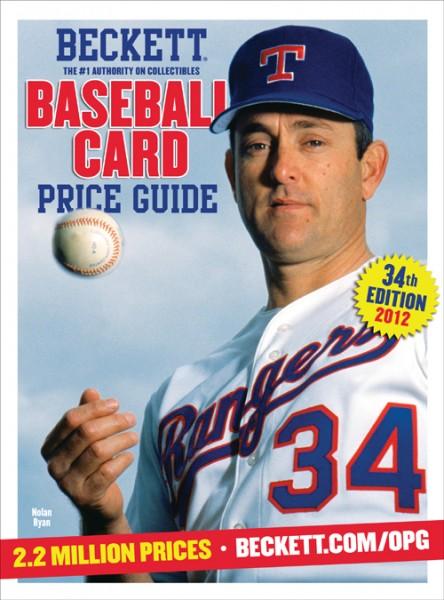 Beckett Baseball Price Guide #34 2012