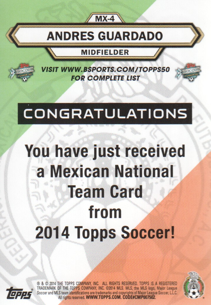 2014-Topps-MLS-Soccer-Cards-Pick-From-List thumbnail 383