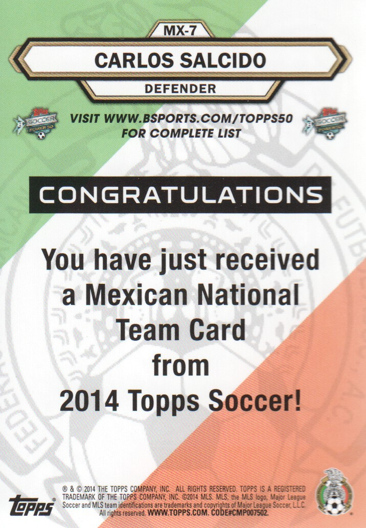 2014-Topps-MLS-Soccer-Cards-Pick-From-List thumbnail 389
