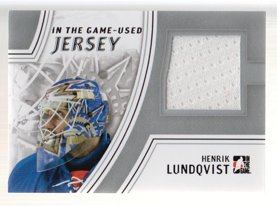2013-14 ITG Used Jerseys Silver #GUJ11 Henrik Lundqvist