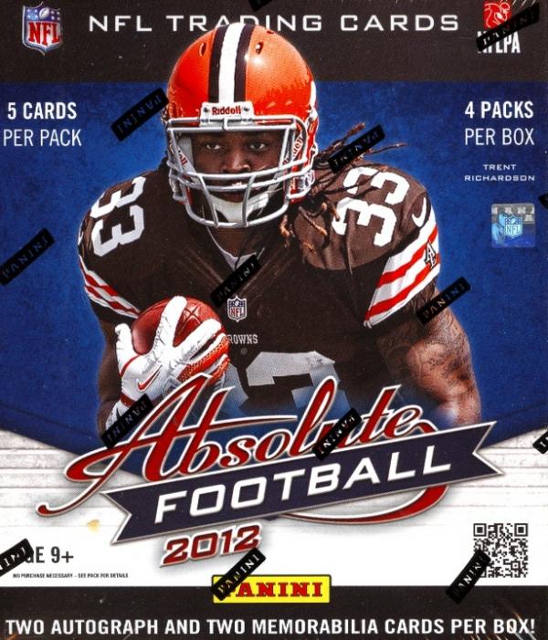 2012 Panini ABSOLUTE Football Hobby Box