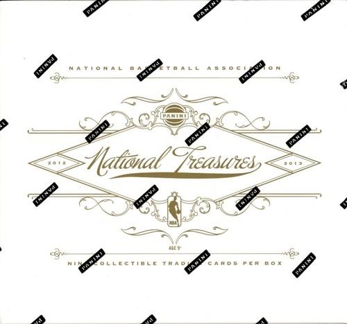 2012-13 ( 2013 ) Panini NATIONAL TREASURES Basketball HOBBY Box