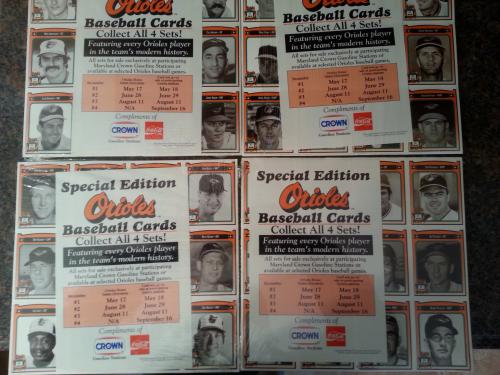 1991 Crown Orioles 1- 501 Complete Set Nm/Mt