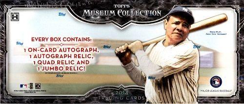 2014 Topps MUSEUM Baseball HOBBY Box