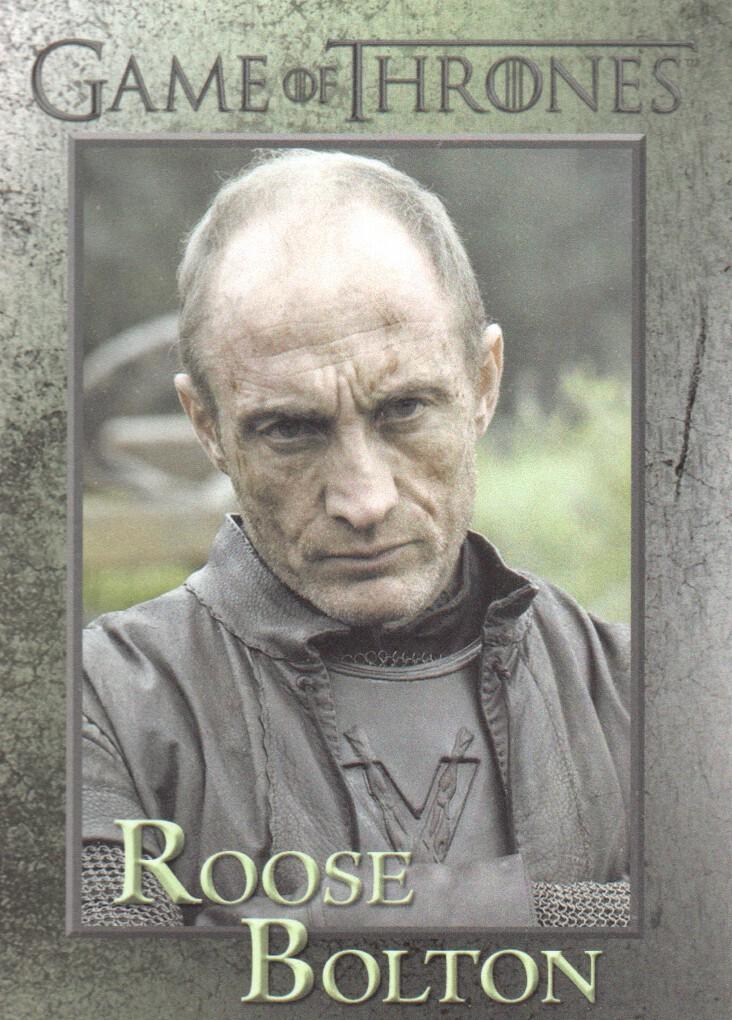 Game Of Thrones Season 6 Foil Base Card #12 Book of the Stranger
