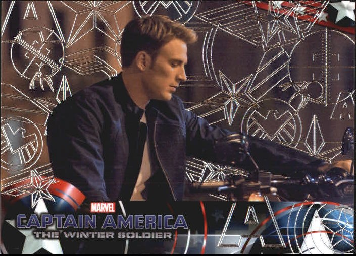 2014 Captain America The Winter Soldier Silver Foil #26 Disillusioned by the direction of S.H.I.E.L.D. - p