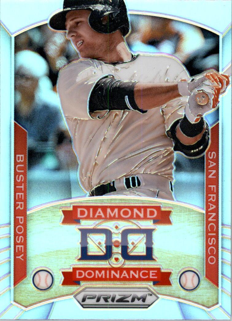 2014 Panini Prizm Diamond Dominance Prizms #24 Buster Posey