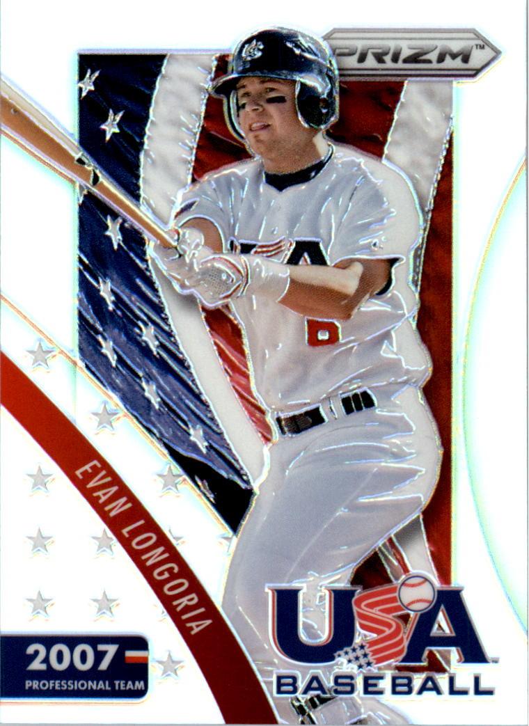 2014 Panini Prizm USA Baseball Prizms #4 Evan Longoria