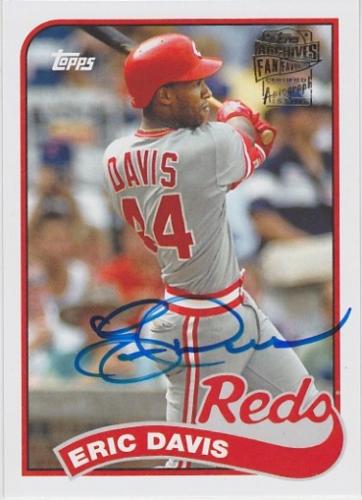 2014 Topps Archives Fan Favorites Autographs #FFAED Eric Davis
