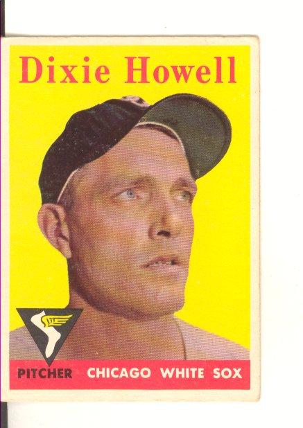 1958 Topps #421 Dixie Howell