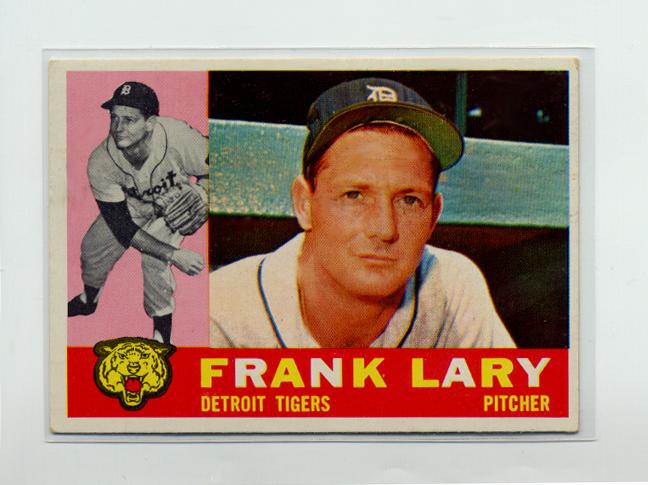 1960 Topps #85 Frank Lary