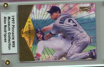 1997 Pinnacle Baseball Alex Rodriguez Museum Collection NICE!