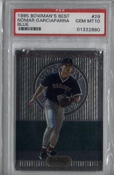 1995 Bowman's Best Baseball #29 Nomar Garciaparra Blue PSA Gem MINT 10