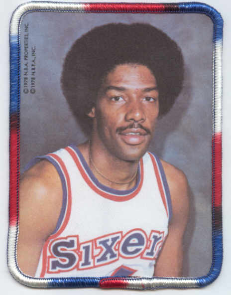 1978 Sports I.D. Patches #2 Julius Erving